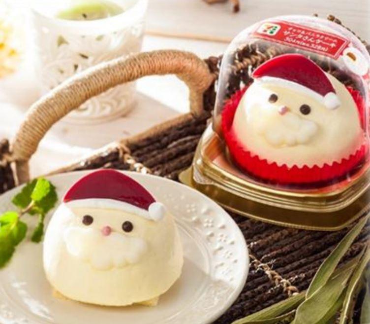 チョコ&バニラクリーム サンタさんケーキ