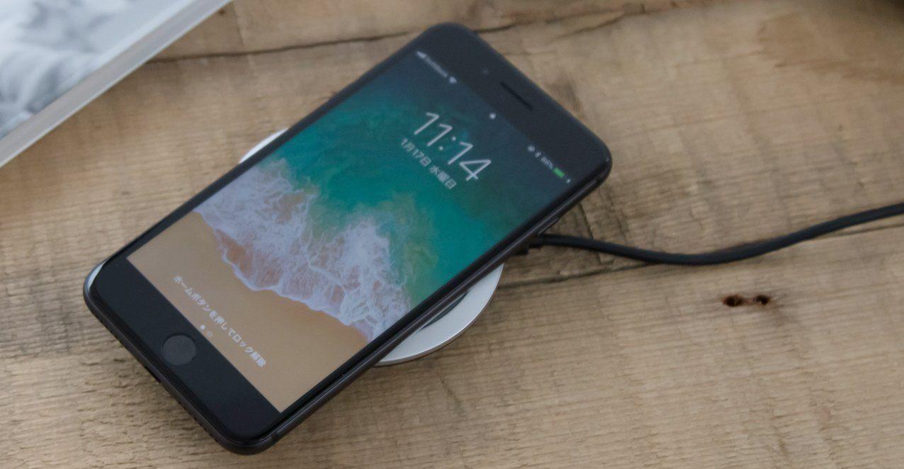 「cheero Wireless Charger」の使用風景の画像