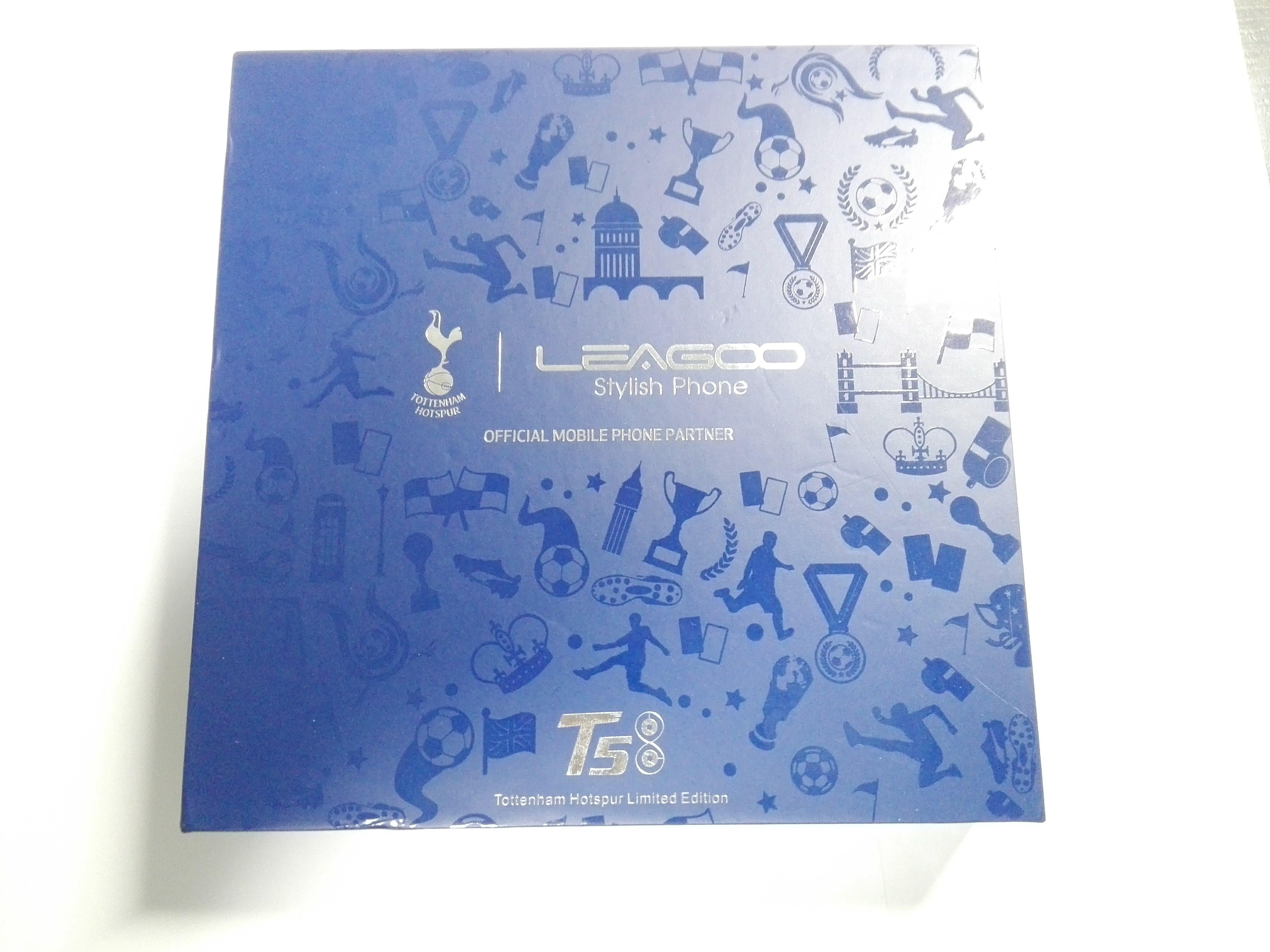 「Leagoo T5」の箱