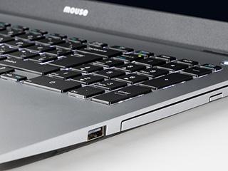 「m-Book N500BD」のキーボードのバックライト