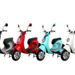 家庭用コンセントで充電できる新型EVスクーター「notte V2」が登場