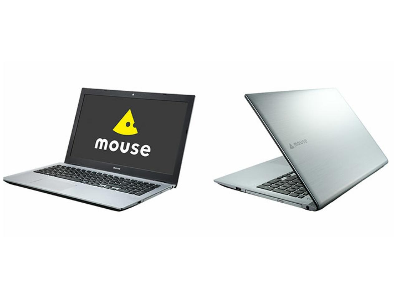 マウスが15.6型ノートパソコン「m-Book N500BD」を発売