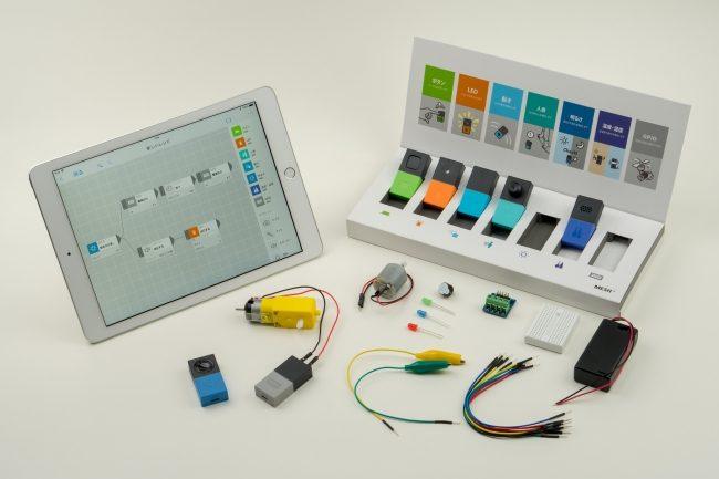 「MESH」に電子工作部品を加えた「MESHひらめきラボセット」が発売!