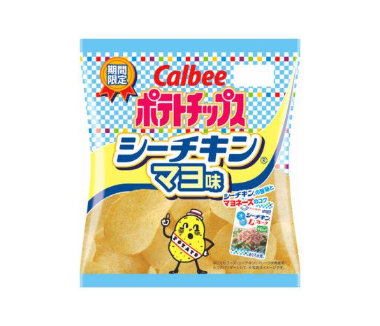 ポテトチップスシーチキンマヨ味