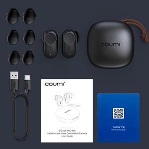 「COUMI ANC-860」のパッケージ内容