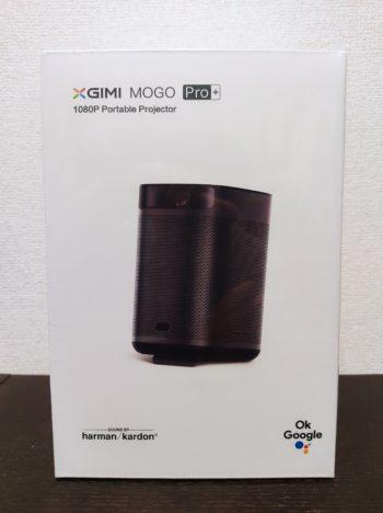 「XGIMI MoGo Pro+」の外箱