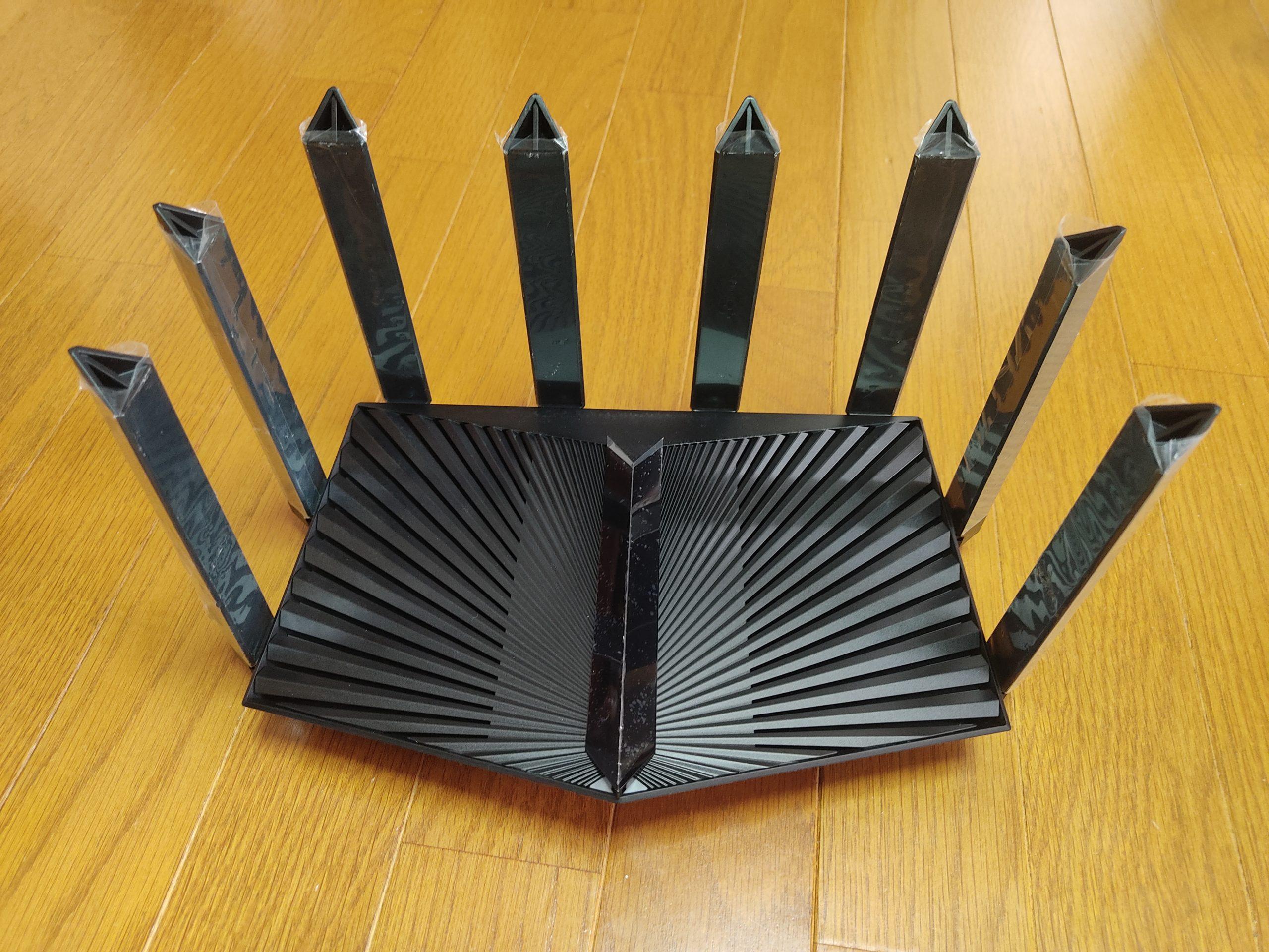 TP-Link トライバンド対応Wi-Fi 6ルーター Archer AX90