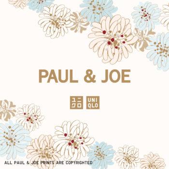 「UT」と「PAUL & JOE」のコラボレーションアイテムのロゴ