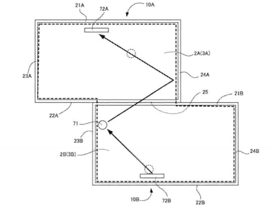 任天堂が提出した特許「GAME SYSTEM」のイメージ画像