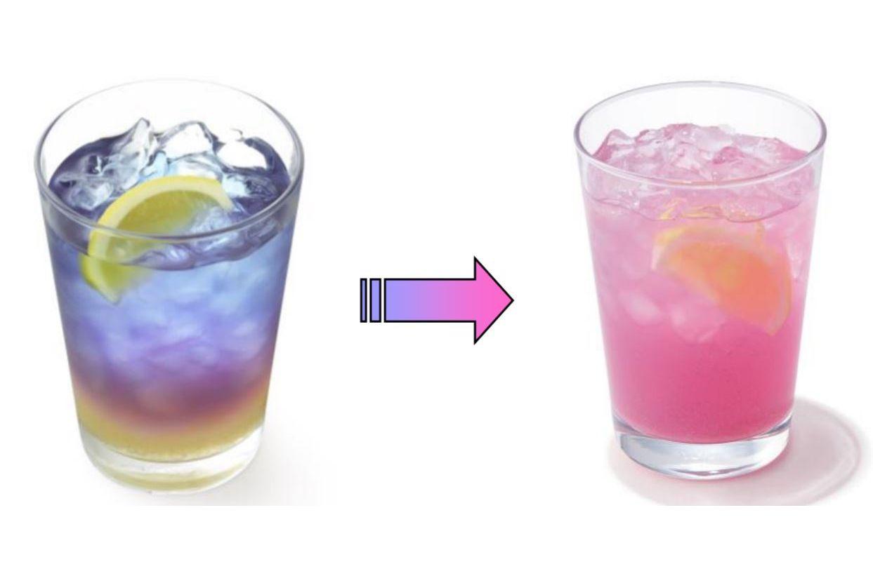 ラベンダーレモネード(レモン果汁 1%使用)