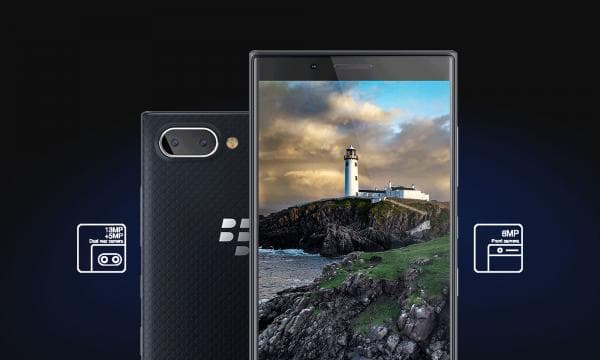 「BlackBerry KEY2 LE」のカメラ