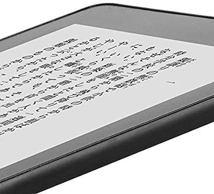 新Kindle Paperwhiteのディスプレイ細部