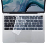 MacBook Air向けシリコンキーボードカバー「FA-SMACBA13R」の使用イメージ