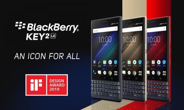 物理キーボードを搭載した廉価版スマホ「BlackBerry KEY2 LE」が発売!