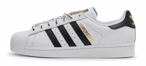 「adidas Originals SUPERSTAR 1986」の側面