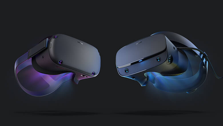 「Oculus Quest」と「Oculus Rift S」