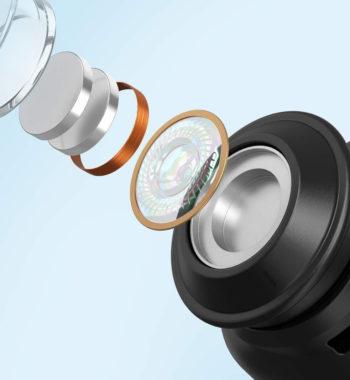 Bluetoothワイヤレスイヤホン「TT-BH072」のイコライザー