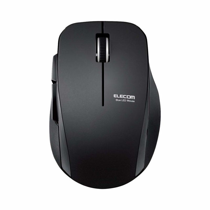 エレコムのワイヤレスマウス「M-FBL01DBXS」が静かに使えて便利!