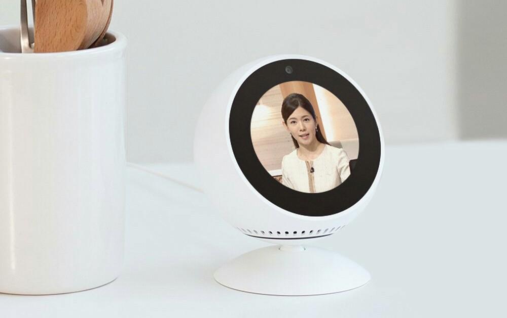 Echo Spotのスクリーン