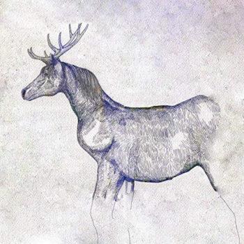 米津玄師「馬と鹿」のジャケット(Illustration by 米津玄師)