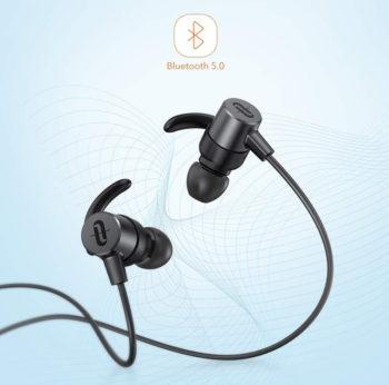 Bluetoothワイヤレスイヤホン「TT-BH072」の外観
