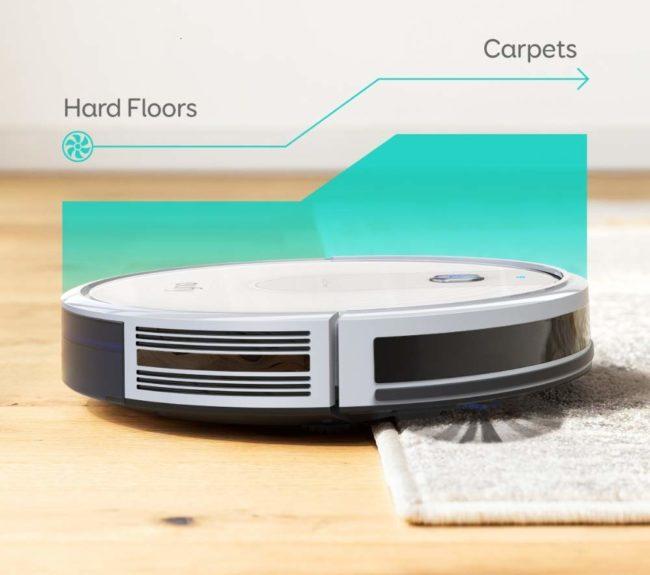 「Eufy RoboVac 15C」のBoostIQテクノロジーのイメージ