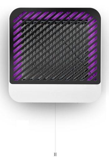 COMLIFE 電撃殺虫器の壁面設置イメージ
