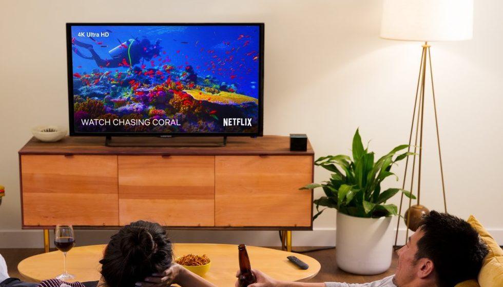 「Fire TV Cube」の使用イメージ