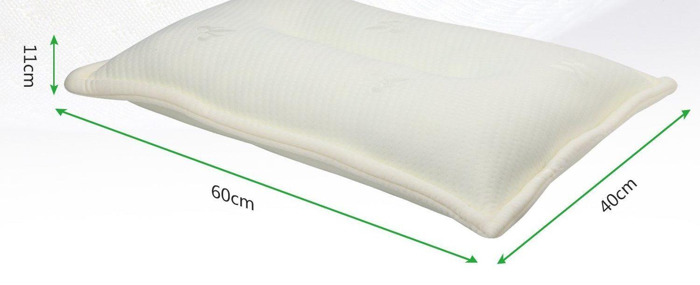「AairHut 安眠枕」のサイズ