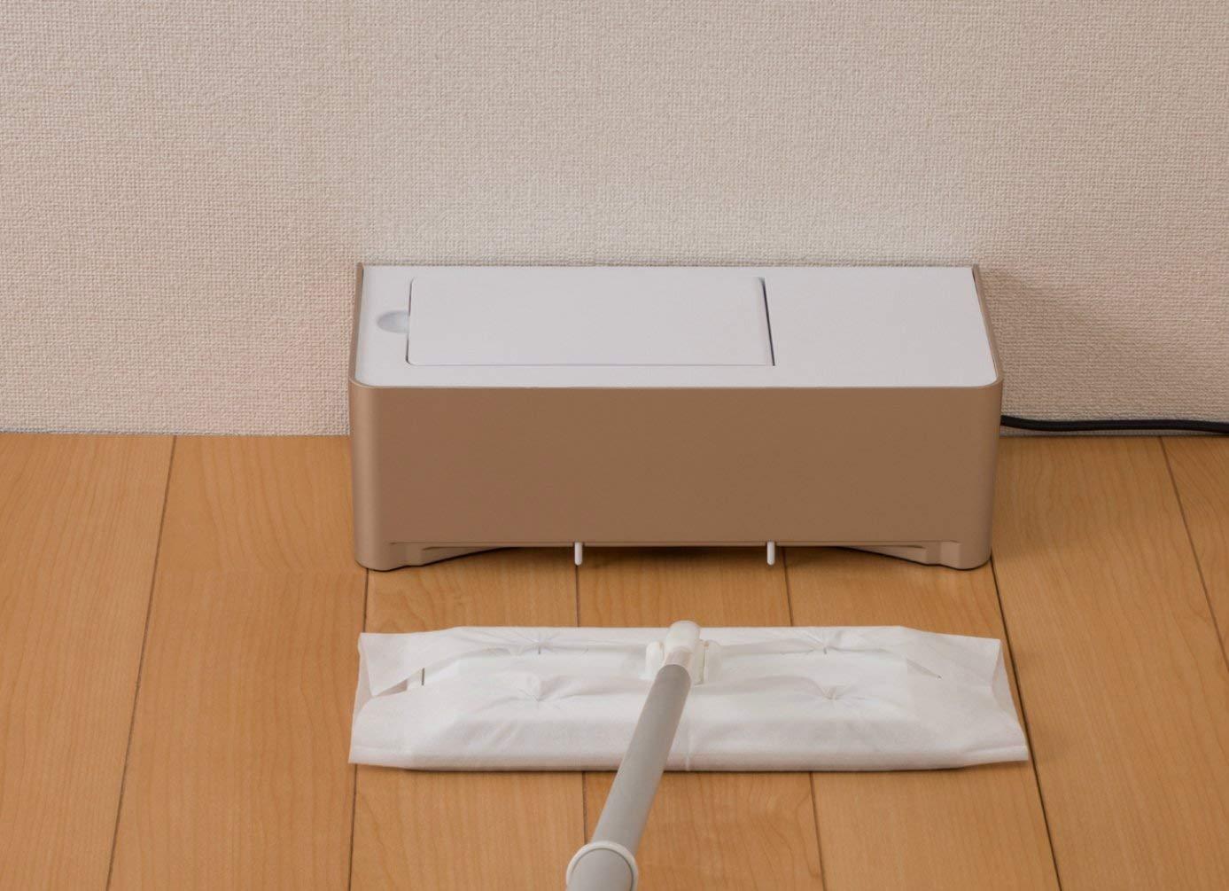 「電気ちりとり ZN-DP24」の使用イメージ