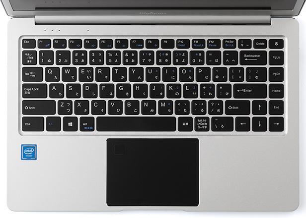 「Altair VH-AD3S」のキーボードとタッチパッド