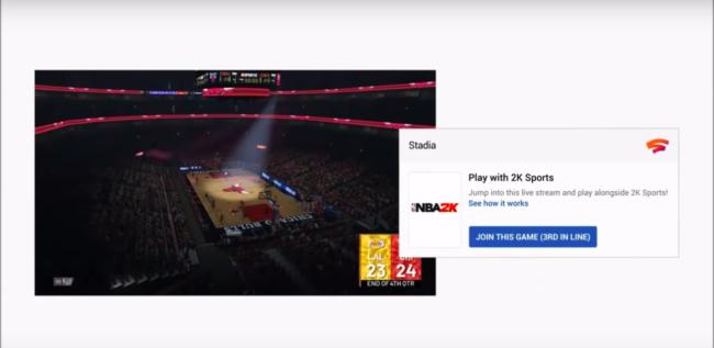 ライブ配信中のゲームに視聴者が飛び入り参加できる「STADIA」の「Crowd Play」機能