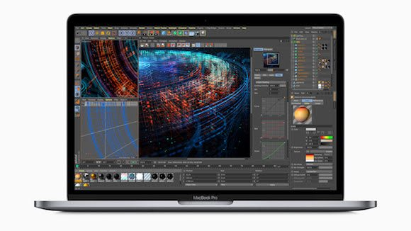 MacBook Proのディスプレイのイメージ