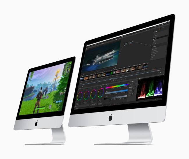 「iMac(2019年)」の画面サイズが異なる2モデル