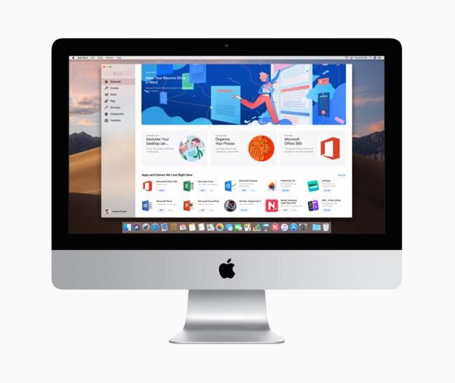 「iMac(2019年)」21.5インチモデル
