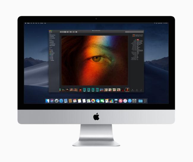 「iMac(2019年)」27インチモデル