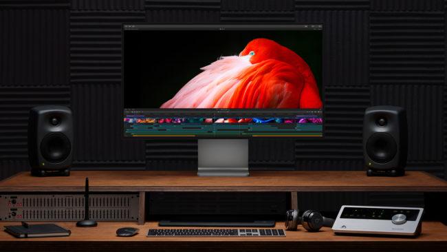 新型「Mac Pro」の使用イメージ