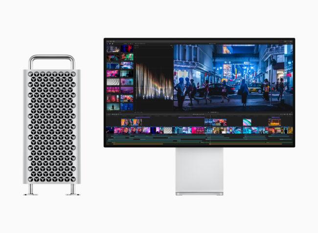 新型「Mac Pro」とディスプレイ
