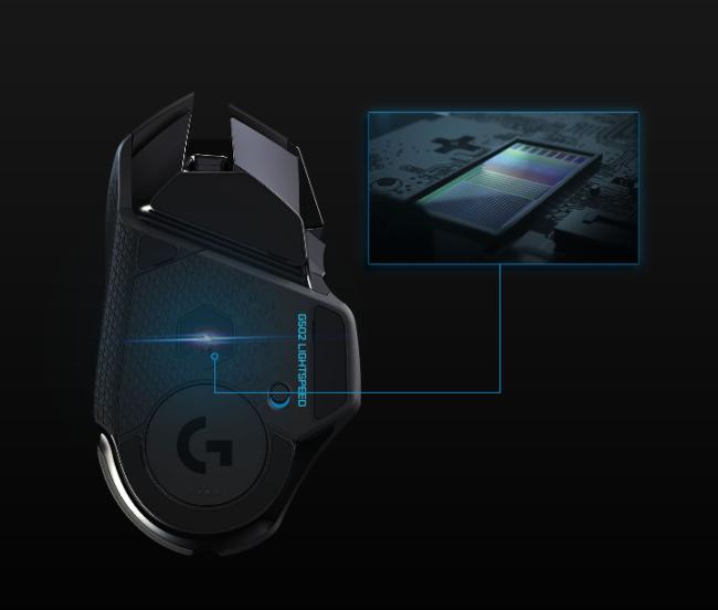 「G502WL」の「HERO 16Kゲーミングセンサー」