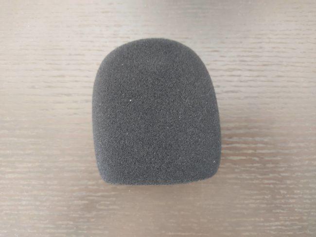 「MAONO USBコンデンサーマイク AU-PM421」のマイクスポンジ