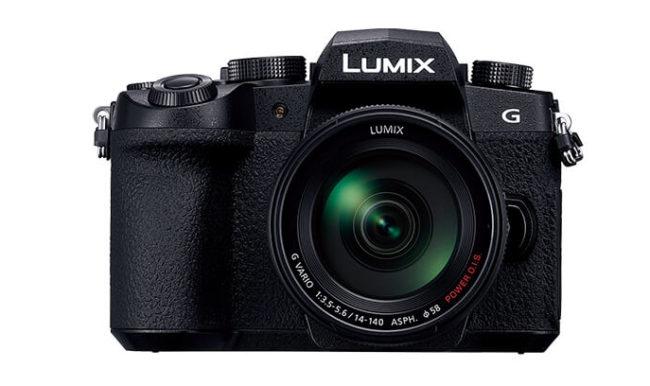 「LUMIX DC-G99」の前面