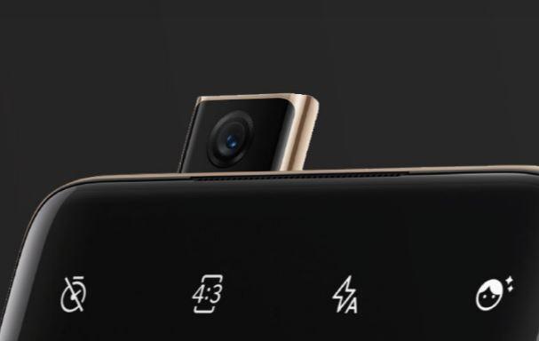 「OnePlus 7 Pro」のポップアップカメラ