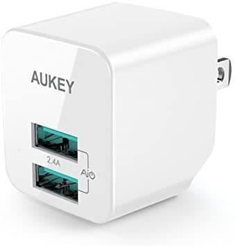 「AUKEY USB充電器(ACアダプター) PA-U32」の本体のデザイン