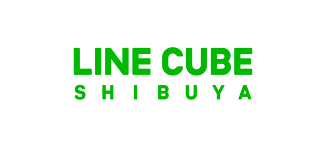「LINE CUBE SHIBUYA」のロゴ