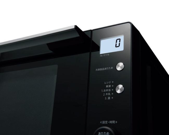 「RE-TF17S」のバックライト液晶
