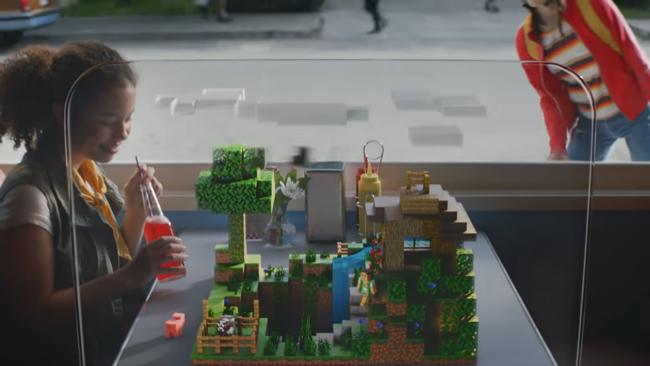 「Minecraft Earth」のビルドモード