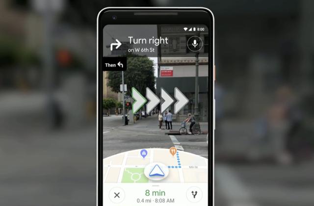 GoogleマップにARナビゲーション機能が搭載決定!カメラで映すだけで案内してくれる