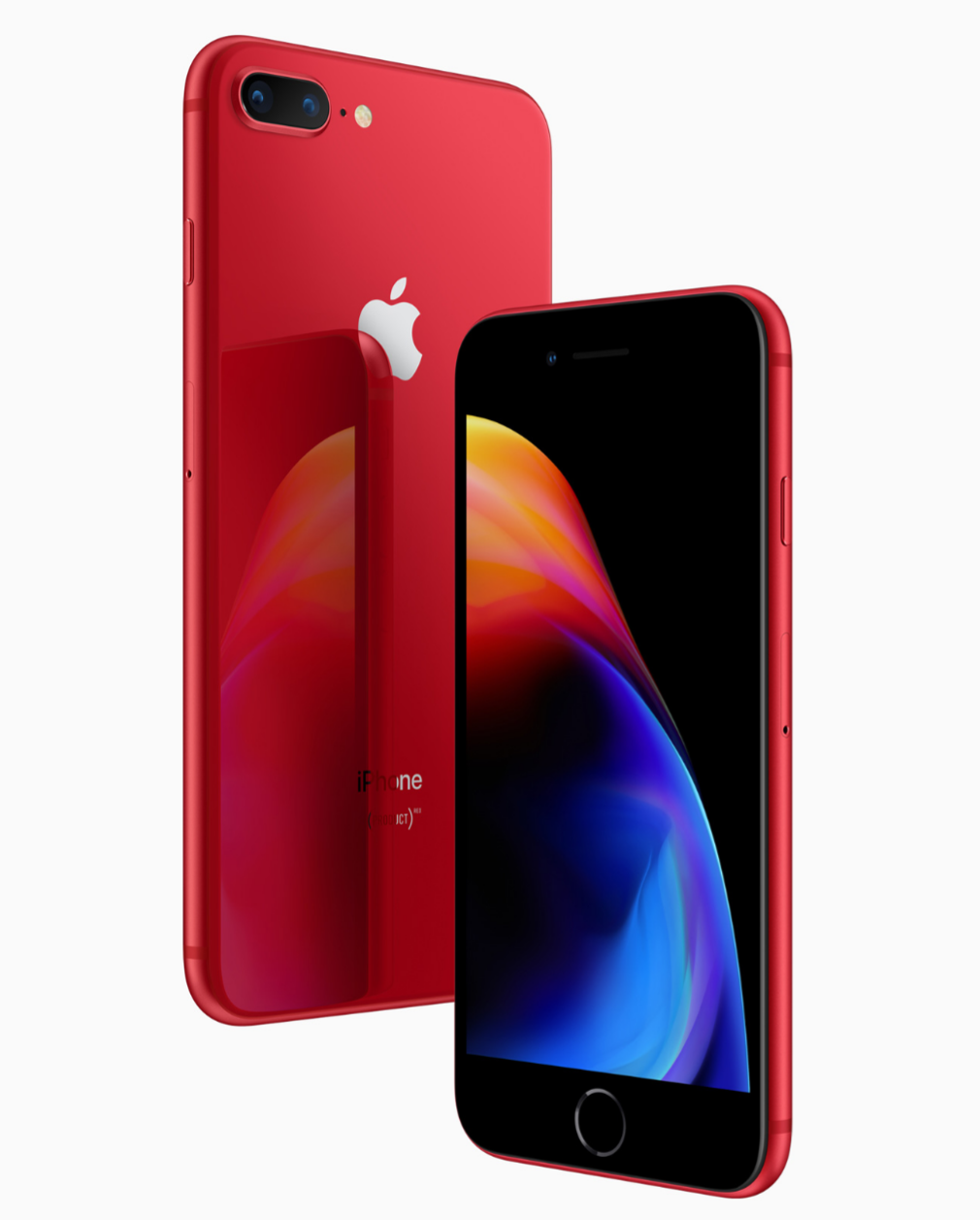 赤い「iPhone 8/8 Plus (PRODUCT)RED Special Edition」が登場