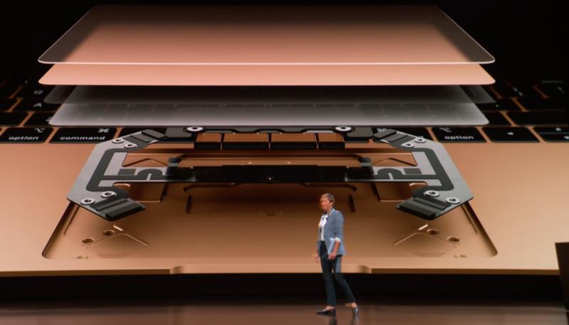 新型MacBook Airのトラックパッド