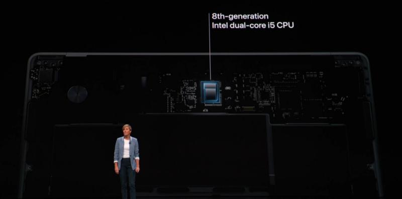 新型MacBook AirのCPU